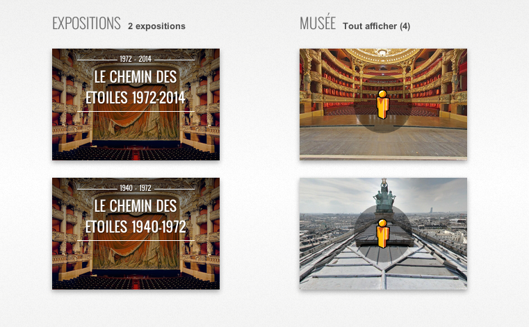 Visite virtuelle de l'Opera Garnier 360°