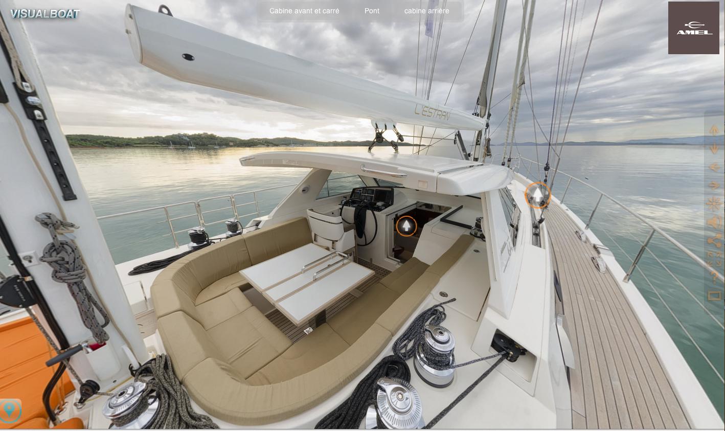 AMEL 64 en visite virtuelle 360° devant l'île de Port-Cros