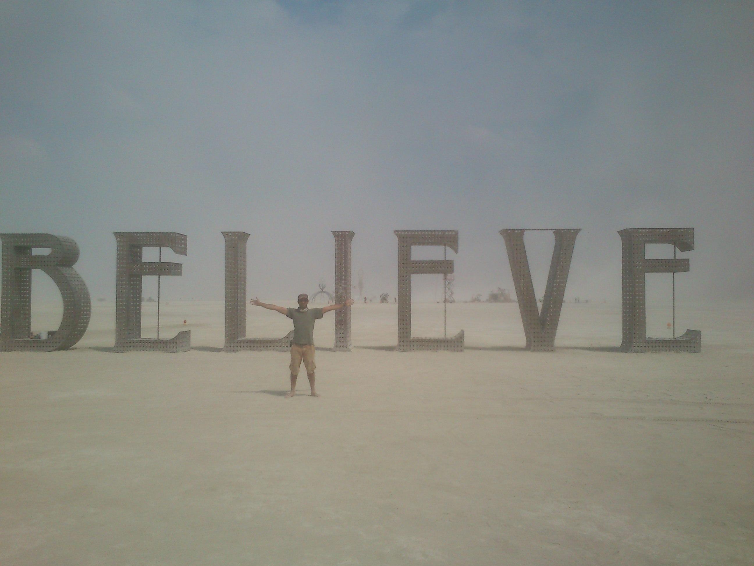 Réalisation de timelapse au festival Burning man 2013