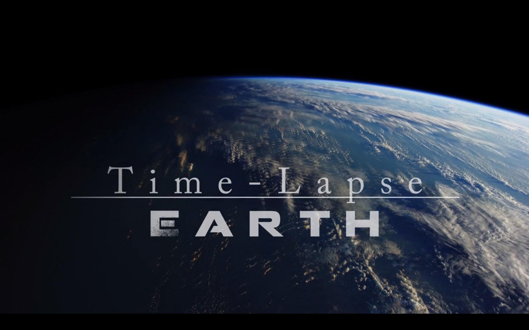Time-lapse de la Terre vue depuis l'ISS
