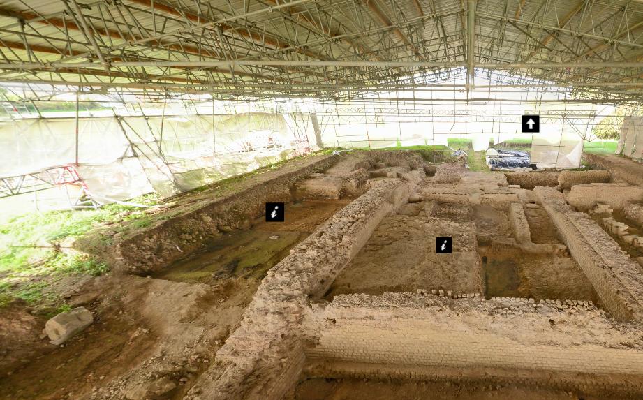 Visite interactive du site archéologique de Vieux-la-Romaine, Calvados – Basse-Normandie