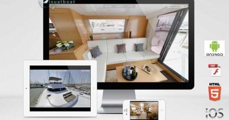 Visite virtuelle catamaran Cumberland 47 LC